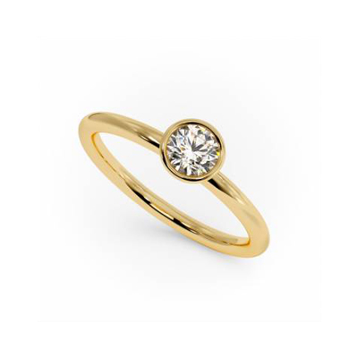 Minuetto 0.27ct Ring - 1495
