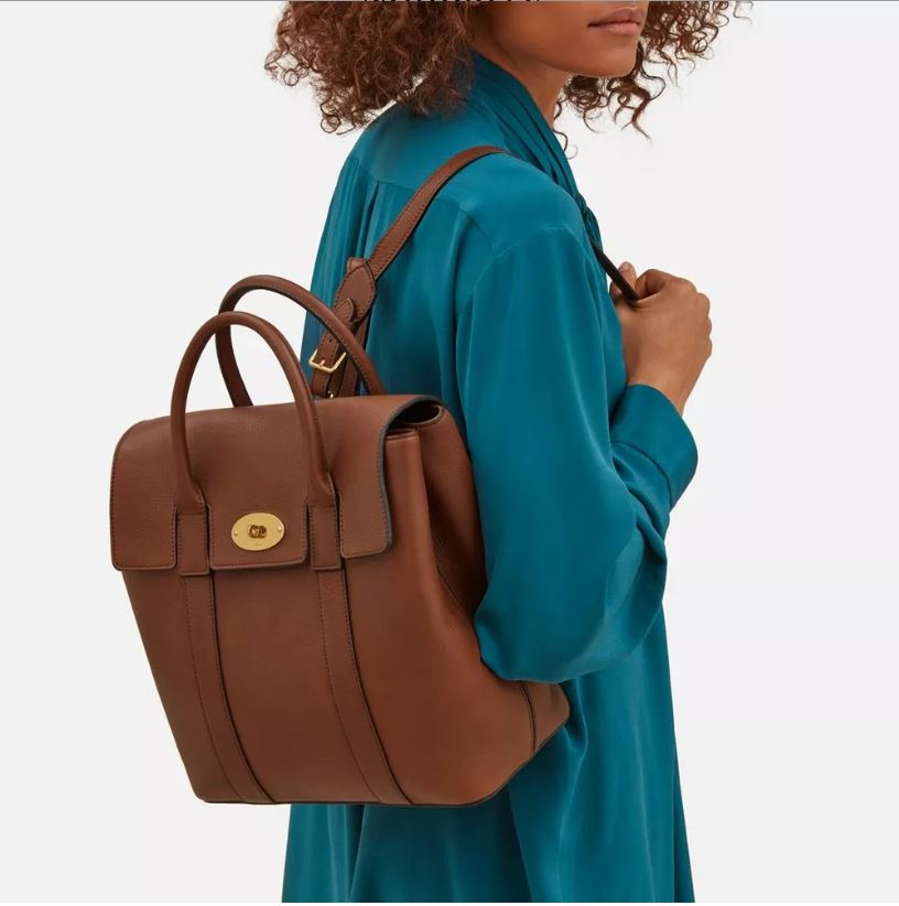 Mulberry Bayswater Backpack Oak Small Classic Grain Was £995 now ... b053057ab2